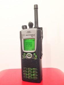 Motorola MTP700 met 'stub' antenne